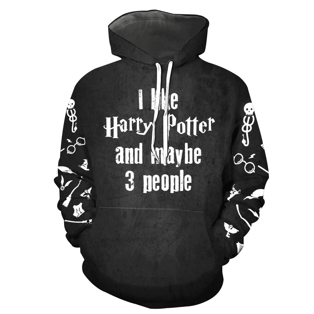 3D ALL OVER PRINTED SHIRT FOR HARRY POTTER 01