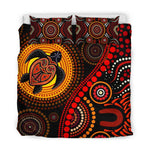 Load image into Gallery viewer, Aboriginal Turtle Sun  Bedding Set 244