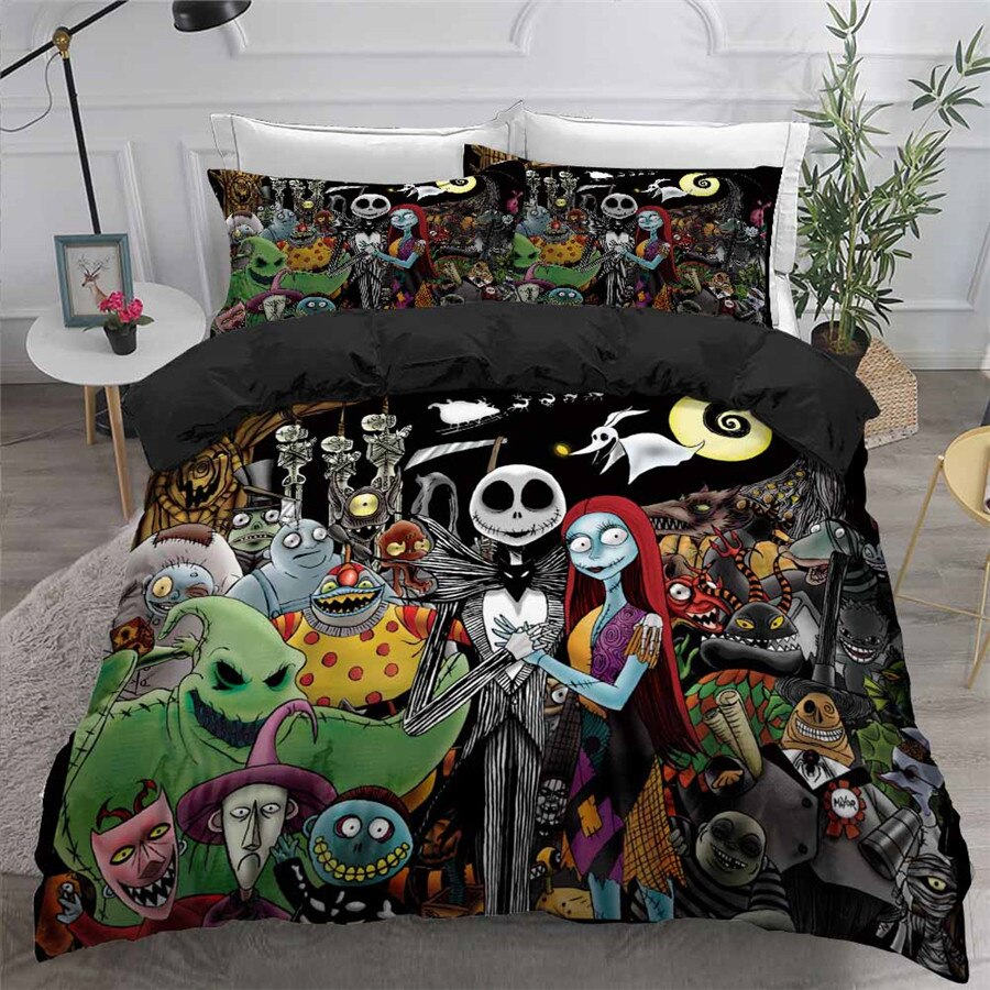 The Nightmare Before Christmas Bedding Set 515