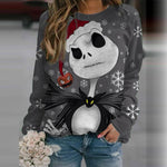 Load image into Gallery viewer, jack skellington sweatshirt