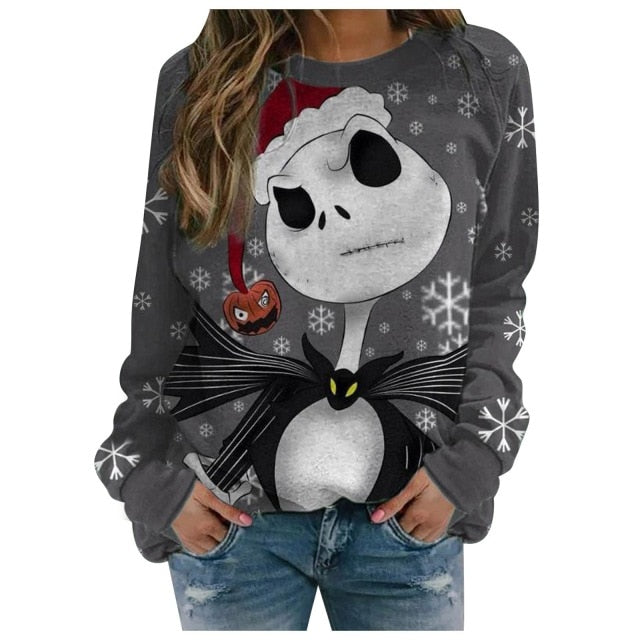 Jack Skellington Sweatshirt for Christmas