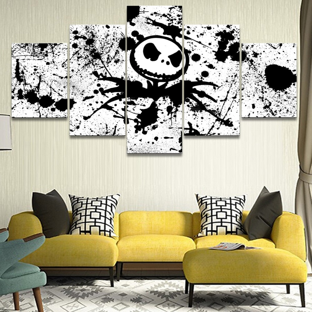 5 Pieces Modern Home Decor Movie The Nightmare Before Christmas