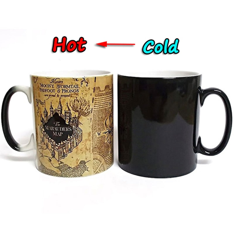 Magic Mug Harry Potter Changing Mug Marauders Map