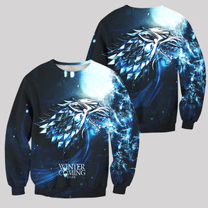3D ALL OVER PRINTED GAME OF THRONES SWEATSHIRT
