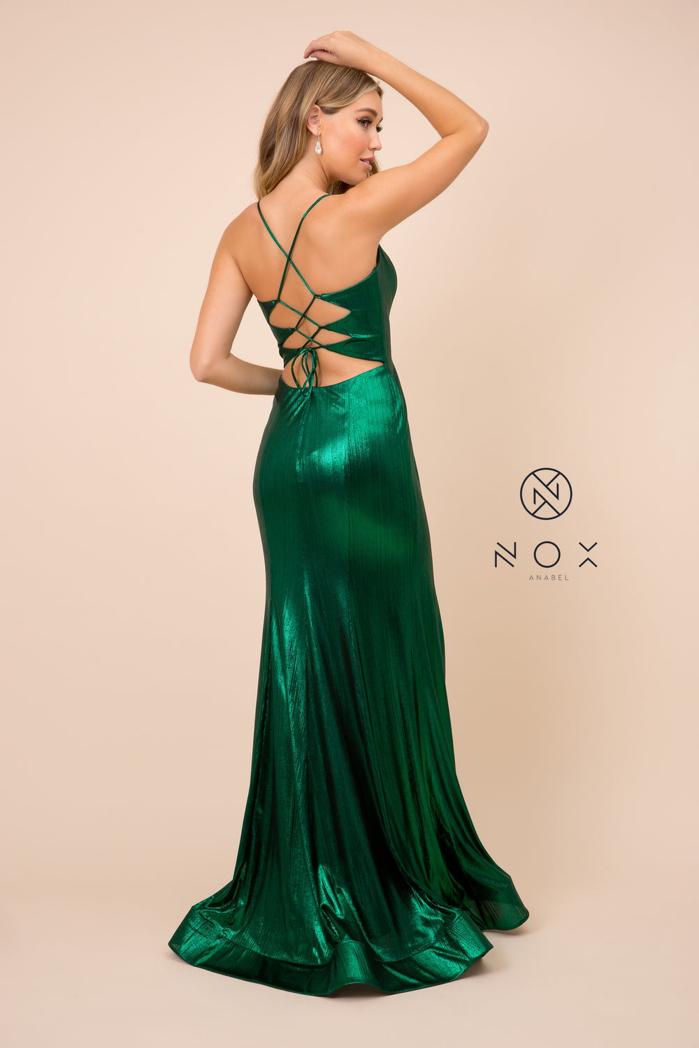 SILKY AND SHINY FLOOR LENGTH GOWN_M413 BY NARIANNA