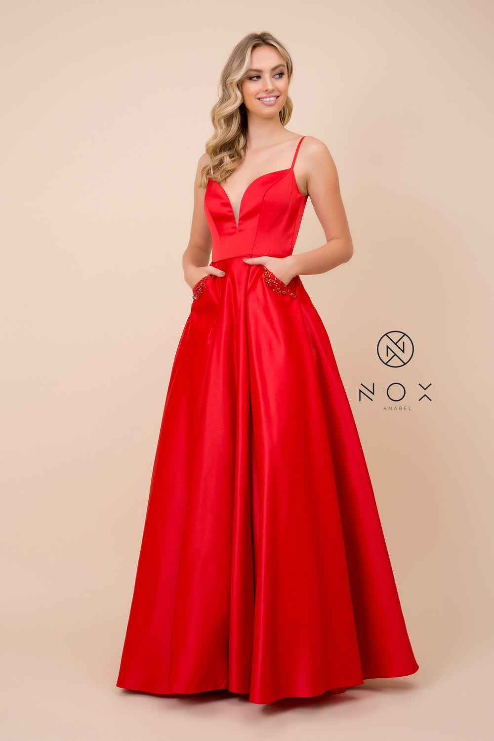 Ball Gown With Pockets Prom Dress_N308 by Narianna