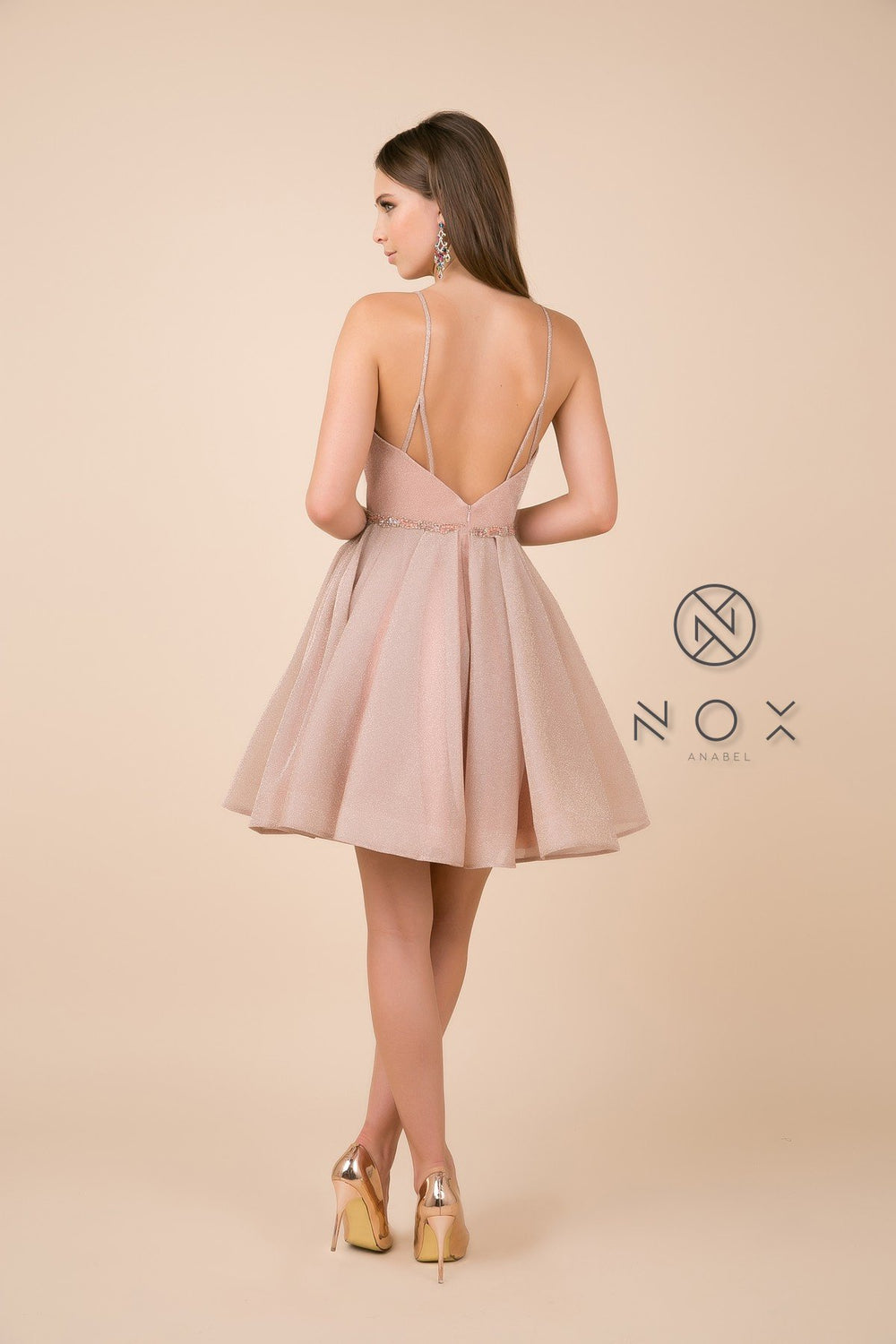 Short A-line Sweetheart Dress