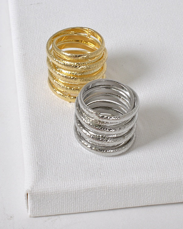 Layered Coil Ring id.31466
