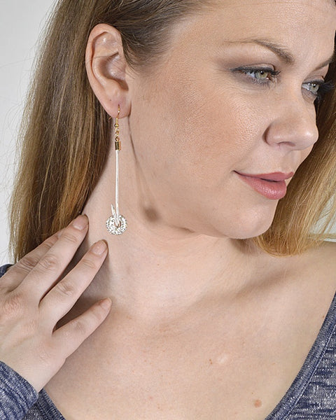 Drop Earrings with Fishhook