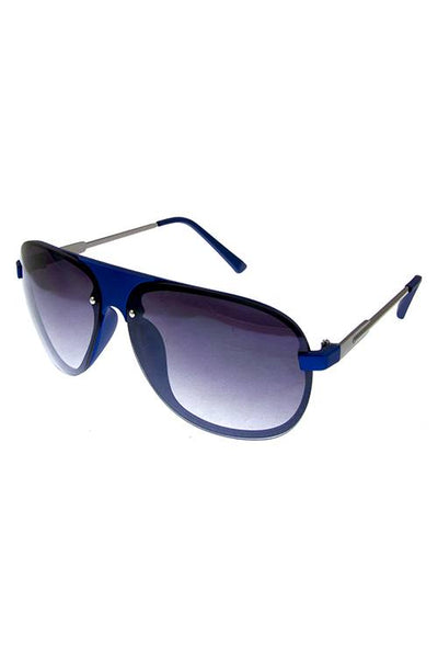 Mens rimless metal original style sunglasses