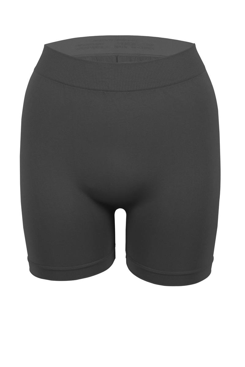 Ladies elastic waistband seamless boyshort