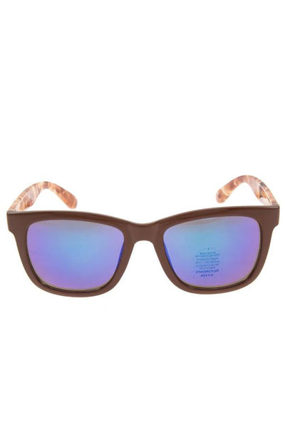 Mirror lens fashion sunglasses pack