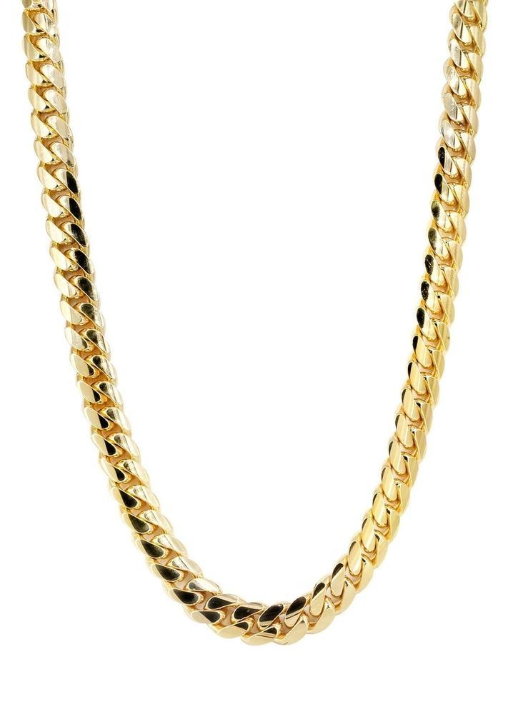 Dragon Clasp Gold Cuban Link Chain - High Crown - Jewelry store