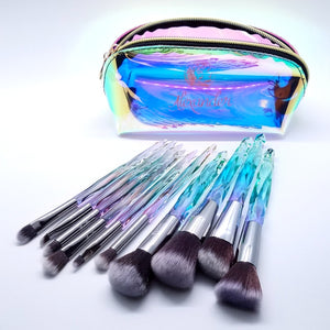 11pc Face brush set