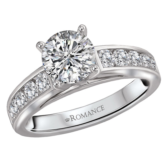 Classic Semi-Mount Diamond Ring (Romance Bridal 2021)