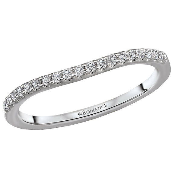 Curved Wedding Band (Romance Bridal 2021)