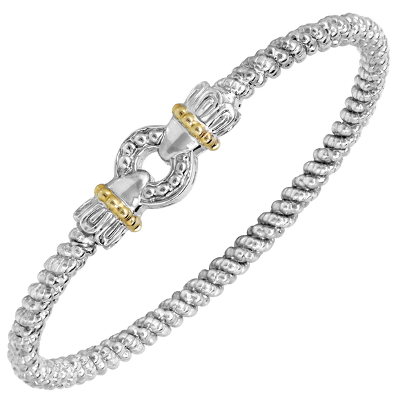 Buy VAHAN | Sterling Silver & 14K Gold | 3 mm Width | Shop VAHAN only at Avonlea Jewelry.
