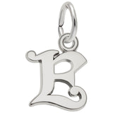 Buy REMBRANDT CHARMS | Curly Initial Accent Charm | Sterling Silver | Shop Rembrandt Charms only at Avonlea Jewelry.