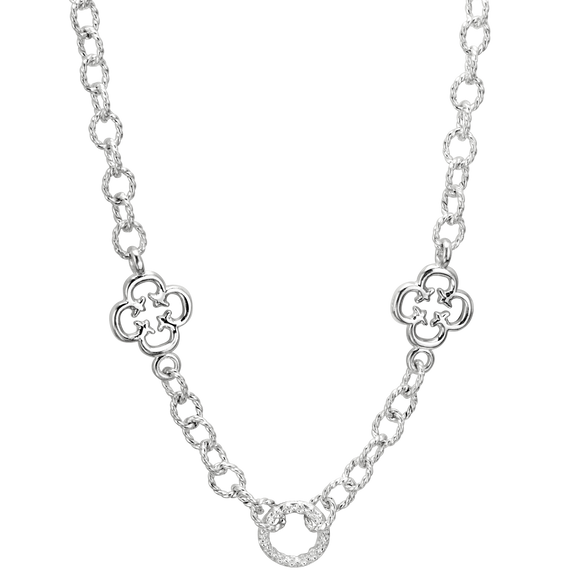 Buy Vahan Necklace |  Sterling Silver Textured Cable Design | Shop VAHAN only at Avonlea Jewelry.