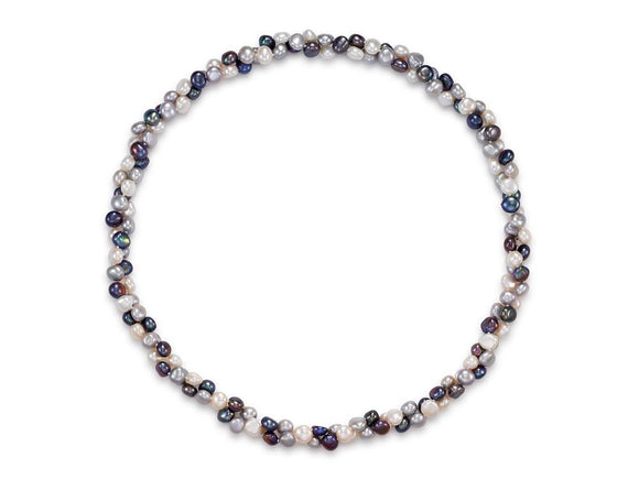 Buy MASTOLONI PEARLS | ENDLESS STYLE MULTICOLOR BAROQUE FRESHWATER PEARL STRAND NECKLACE | Shop Mastoloni Pearls only at Avonlea Jewelry.