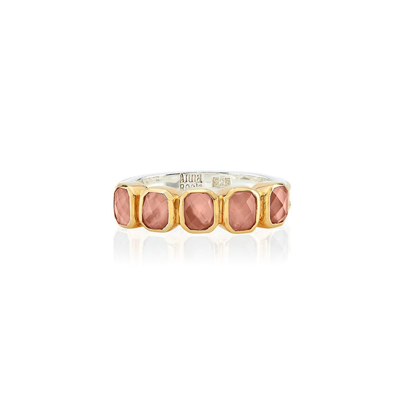 Buy ANNA BECK | PINK QUARTZ MULTI-STONE RING | Sterling Silver | Shop Anna Beck only at Avonlea Jewelry.