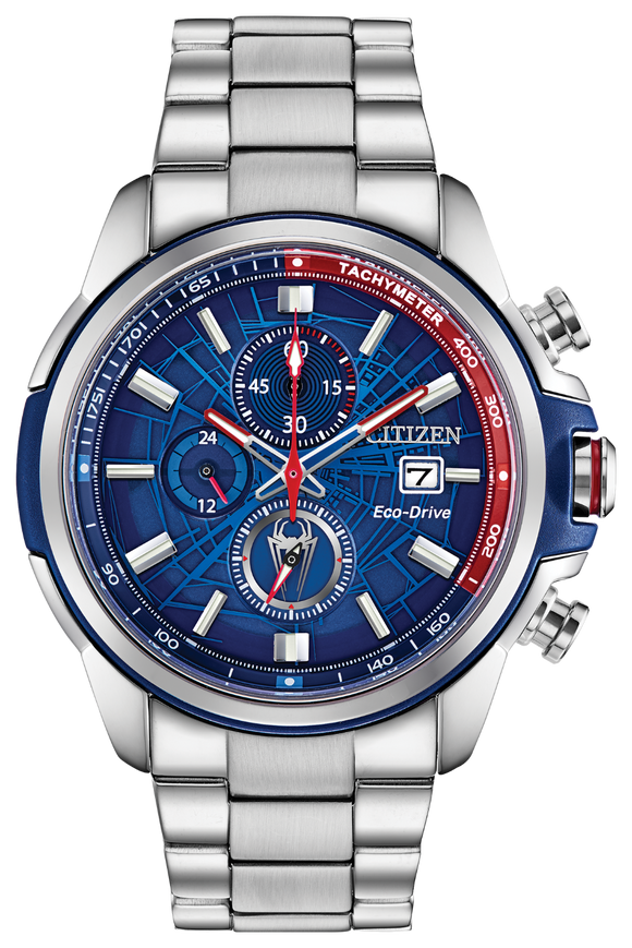 Buy Spider-Man | Marvel Citizen Watch | Stainless Bracelet | Only Available In-Store | Shop Avonlea Jewelry only at Avonlea Jewelry.