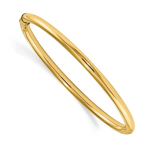14K Madi K 2.5mm Slip-On Baby Bangle ~ Polished Yellow Gold Bracelet