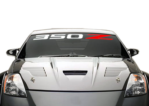 350Z Windshield Decal Banner sticker
