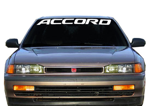 ACCORD Windshield Decal Banner sticker