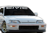CIVIC EF Windshield Decal Banner sticker