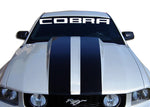 COBRA STYLE Windshield Decal Banner sticker