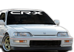 CRX STYLE Windshield Decal Banner sticker
