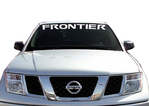 FRONTIER  STLE Windshield Decal Banner sticker