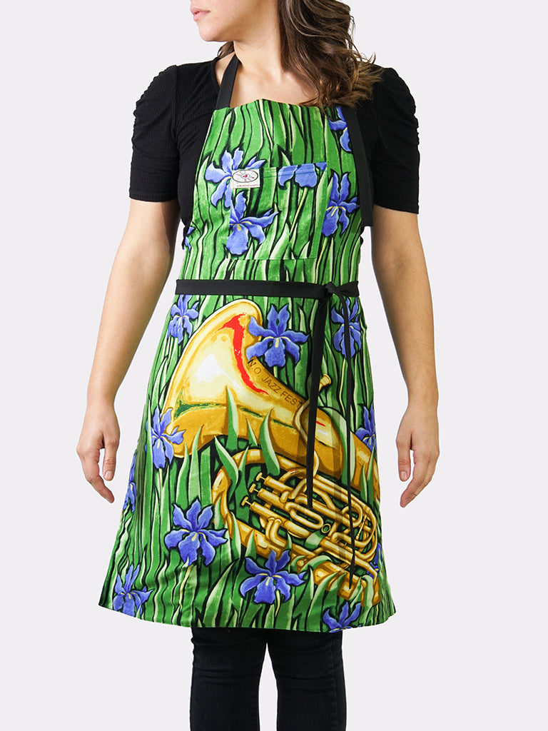 Splendor in the Brass BayouWear Apron Womens