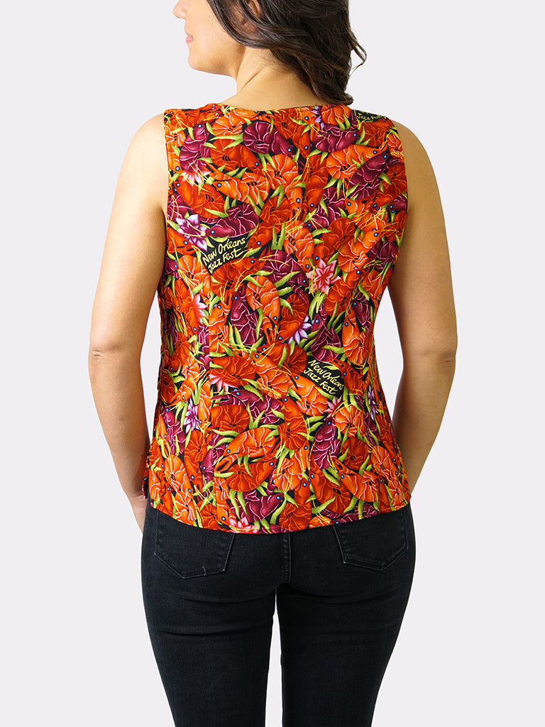 Crawfish BayouWear Camisole Back