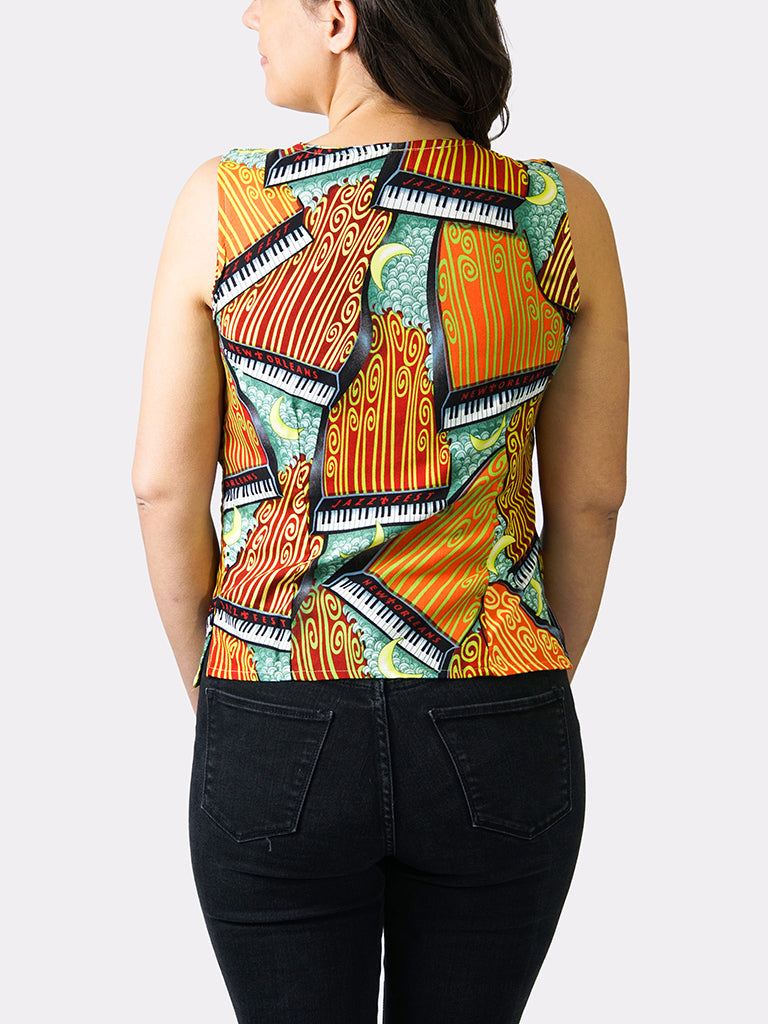 Pianos At Sea BayouWear Camisole Back