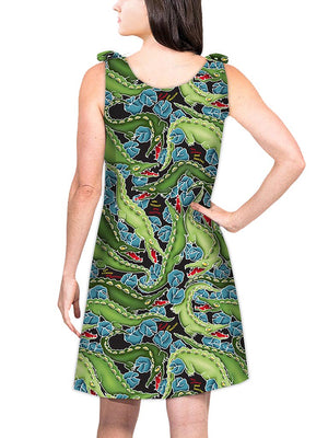 Top Tie Dress - Gator!