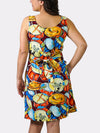 Jazz Fest Rag BayouWear Sun Dress Back