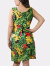NOLA Camo BayouWear Sun Dress Back