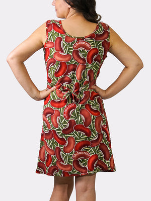 Red Beans BayouWear Sun Dress Back