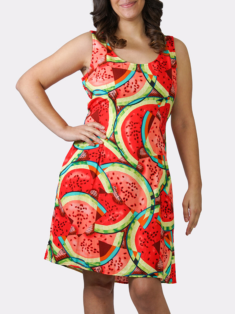 What-a-Melon BayouWear Sundress Front