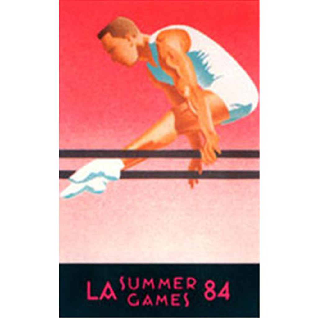 Los Angeles Summer Games Gymnast