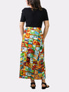 Jumble YaYa BayouWear Long Skirt Back