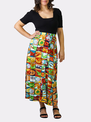 Jumble YaYa BayouWear Long Skirt Front