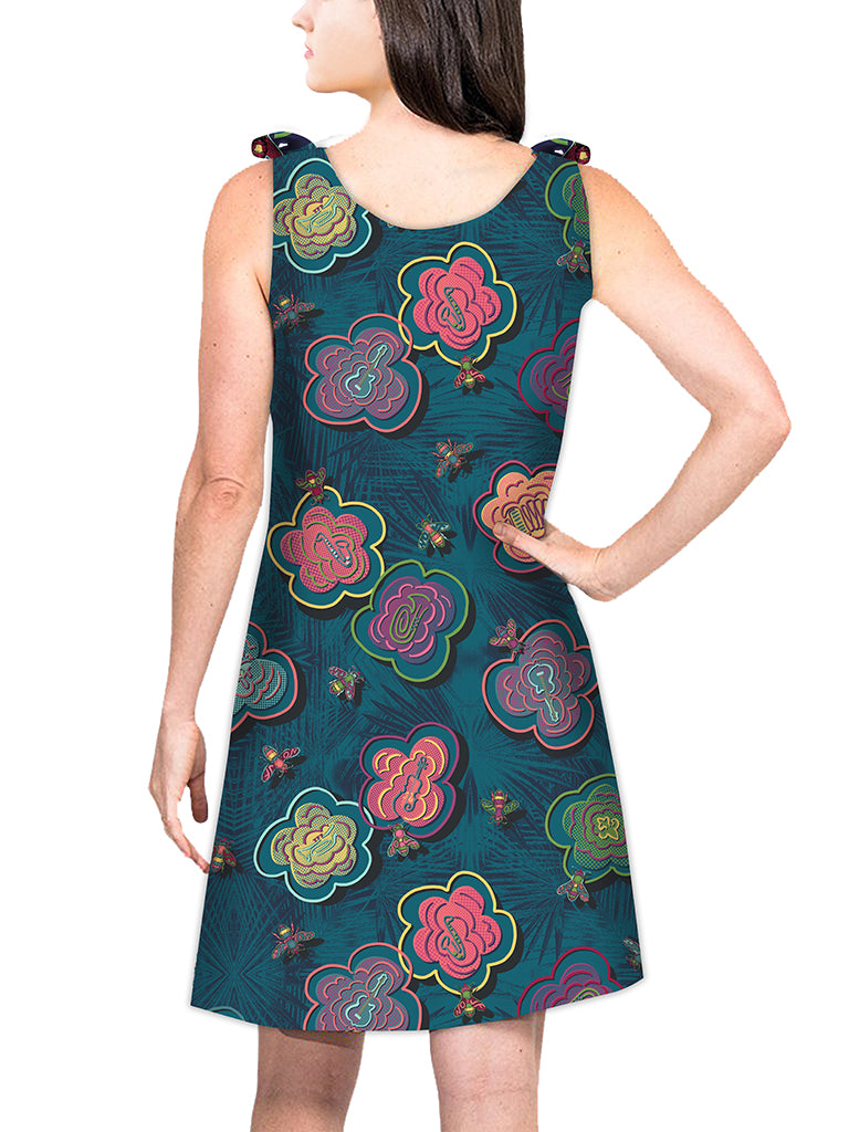 Top Tie Dress - BeeBop Buzz