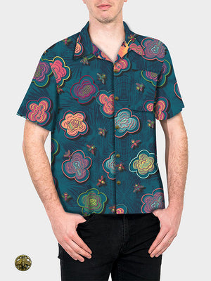 HowAhYa® Hawaiian Shirt - BeeBop Buzz