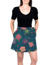 Mini Wrap Skirt - BeeBop Buzz