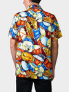 Jazz Fest Rag BayouWear Hawaiian Shirt Mens Back