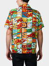 Jumble YaYa BayouWear Hawaiian Shirt Mens Back