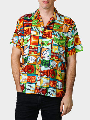Jumble YaYa BayouWear Hawaiian Shirt Mens Front